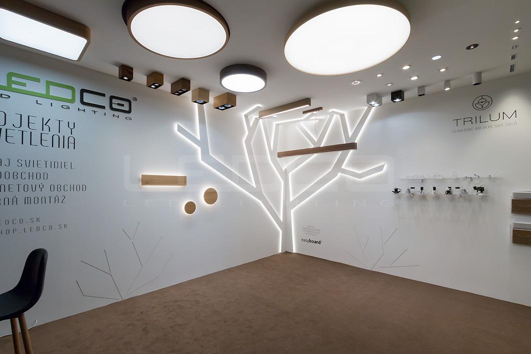LEDCO na výstave Nábytok a bývanie 2018 v Nitre s prezentáciou LED svietidiel